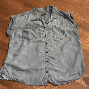 $bogo$ Jachs Girlfriend grey Button Down shirt med